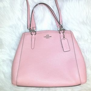 Light pink COACH purse